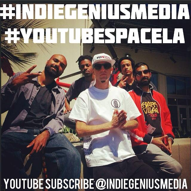 IndieGenius Media Jamil Suleman Aaron Jacbob YouTube Space Jeffon Seely Ari