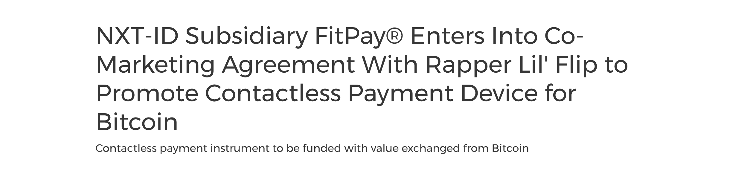 fitpay-NXT-ID